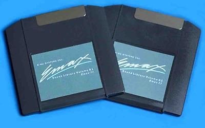 E-mu Emax Complete Library for Emax 2 on 2 zip 100 disks