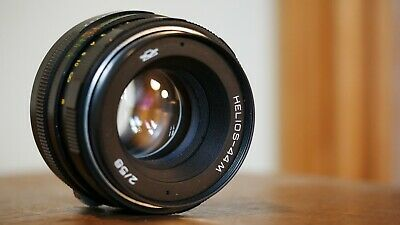 Helios 44M 58mm f2 M42 Sharp Great Bokeh, Well built solid USSR lens 8168991