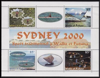 Wallis and Futuna Olympic Games Sydney Sheetlet of 4v D1 SG#762-765 SC#531