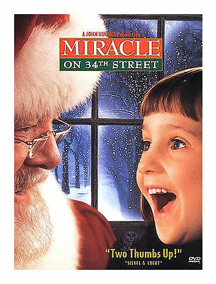 Miracle on 34th Street (DVD, 2000) Richard Attenborough Mara Wilson-VG!!