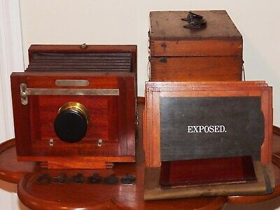 1885-1895 Rochester Optical Co. 5 X 8 New Model Improved View Camera Outfit