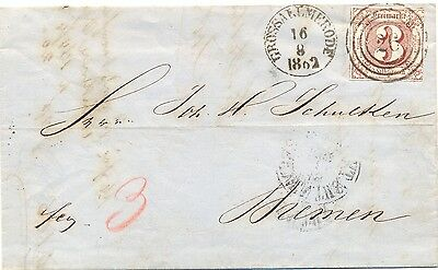 "Thurn u Taxis, Brief a. Grossallmerode ""26"", Michel Nr. 17"