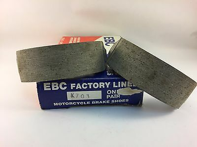 EBC Brake Shoes 703 Front Kawasaki KDX 200 1983-85