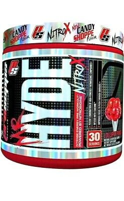 ProSupps MR HYDE NITRO X Pre-Workout Energy Pump Focus - 30 Servings PICK FLAVOR