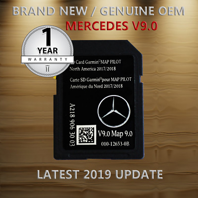 USA CAN MEX 2018 / 2019 Mercedes Benz Navigation Update C-Class GLA C250  E550