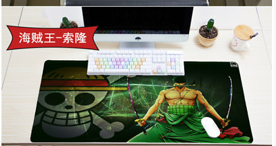 One Piece Roronoa large mouse pad electronic sports game keyboard mat hot rubber