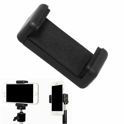 Selfie Stick E-type Extendable Smart Phone Clip Clamp Holder For Tripod New