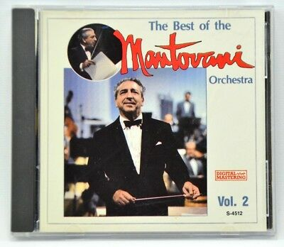 The Best of the Mantovani Orchestra Music CD Vol. 2