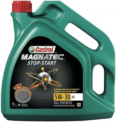 Castrol Magnatec Stop-Start 5W-30 A5 Fully Synthetic Engine Oil 4 Litres 4L