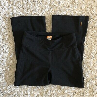 697c6b154c5e5 Lucy Womens Powermax Capri Legging Black Yoga Fitness Crop Pants Size XS X  Small