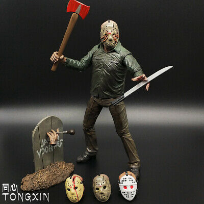 """1:12 NECA Friday The 13th Part 5 Jason Voorhees Ultimate 7"""" Action Figure New"""