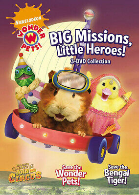 Wonder Pets Grande Missioni, Little Heroes! (3- Nuovo DVD