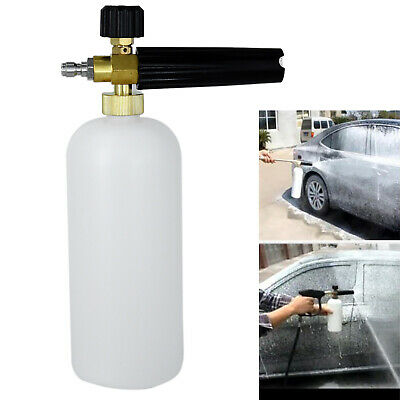 Nice Gun Cannon Snow Lance Cleaning Pressure Washer Foam Bottle Car 1/4 Tool T1