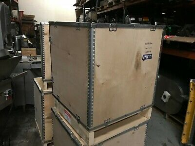 "ULINE Wood Crate - 24 x 24 x 28 3⁄4"" Brand New & Unused"