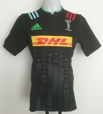 1def5942e45 Harlequins Rugby 2015-16 S/S Player Big Game Jersey By Adidas Size Men's