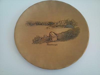 Wendell August Forge Solid Bronze Pittsburgh Plate Handmade
