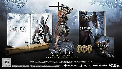 SEKIRO Shadows Die Twice  Collectors Edition XBOX ONE NEW SEALED UK EDITION