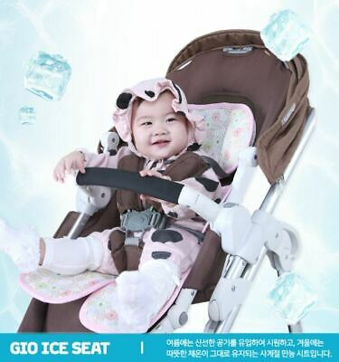 Gio Ice Seat Triple 3D Air Mesh Baby Seat/Pad/Liner for Stroller and Car Seat