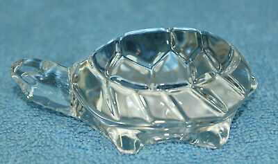 Villeroy & Boch Turtle Nr. 318 Glass Crystal Paperweight, Germany, New In Box
