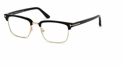 f64fb4a50f0a1 Tom Ford TF 5504 spectacle frame in black and gold 001 - Tom Ford case
