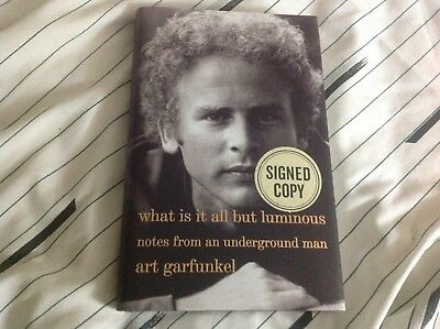 Art Garfunkel Signed First Edition Hardcover Book Simon & Garfunkel