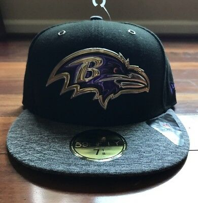 hot sale online 655d5 01134 Baltimore Ravens New Era 2016 NFL Draft On Stage 59FIFTY Hat Cap Size 7 1