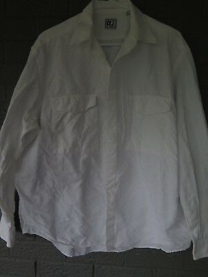 V2 By Versace Button Down Shirt In White Size Large