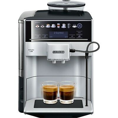 Siemens te653501de-eq.6 plus S300-Automatic Coffee Machine, free ship Worldwide