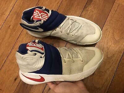 san francisco 752bd d5422 NIKE KYRIE 2 Team USA Olympic 819583 164 Premium Basketball Shoes Size 9.5 !