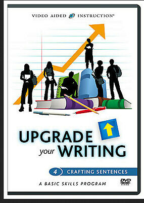 Upgrade Your Writing: Crafting Sentences #4 (DVD) - Free Study Guide included -