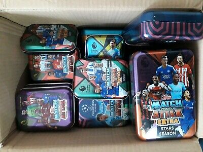 EMPTY Match Attax 2017/18 2017 2018 17/18 Mini Tin All 3 Designs Available
