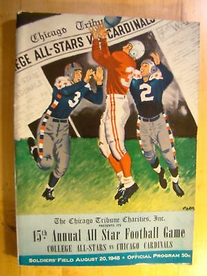 4233ee7b 1948 CHICAGO CARDINALS vs PITTSBURGH STEELERS CHARLES BIDWELL ...