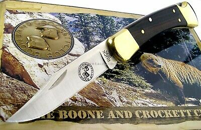 Buck USA 110 Folding Hunter Knife Boone & Crockett Collector's Tin 2017 Edition