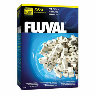 Fluval Filter Media Pre-Filter 750g Captures Solid Waste / Prevents Clogging