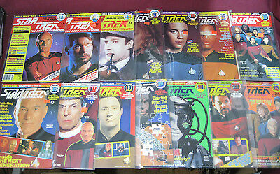 (14 Issues) Star Trek The Next Generation Official Magazine 1987-93 TNG Picard