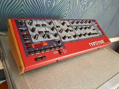 Clavia Nord Rack 2X Solid Oak End Cheeks From Synths And Wood