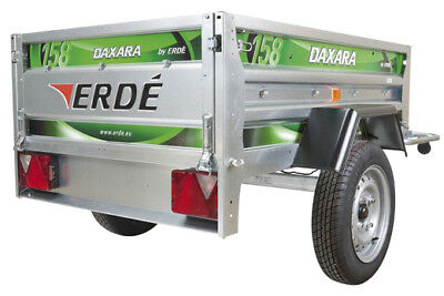 Daxara 158 trailer with free flat cover .