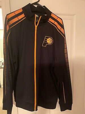 Indiana Pacers Adidas Jacket - Size L