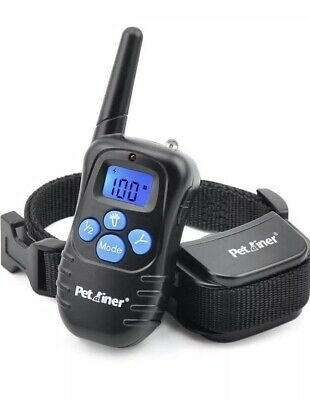 Petrainer Rechargeable Dog Training Shock E Collar