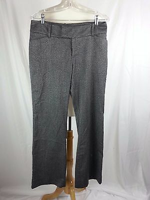 MOSSIMO STRETCH Extensive Gray & Black Pants Women's Size 10 Fit 4 34 x 30