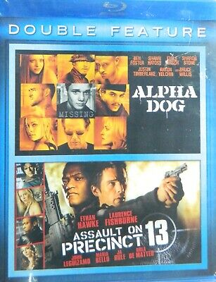 2 Movies on Blu-ray ALPHA DOG Ben Foster and ASSAULT on PRECINCT 13 SEALED
