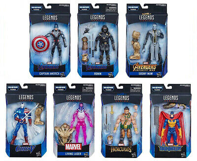 "Marvel Legends 6"" Avengers: Endgame Wave 1: Set of 7 (ARMOURED THANOS BAF)"