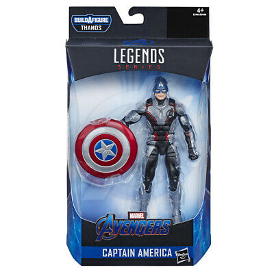 "Marvel Legends 6"" Avengers: Endgame Wave 1: Captain America (ARMOURED THANOS BAF"