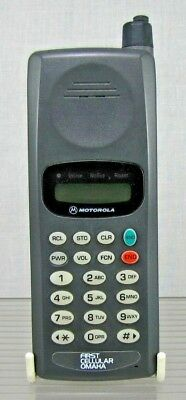 Vintage Motorola Cell Phone - First Cellular Omaha - Preowned