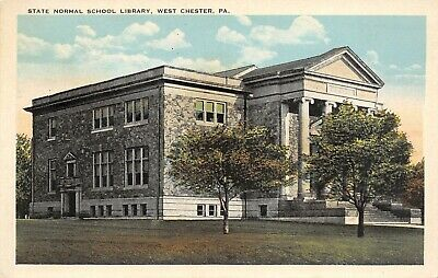 West Chester Pennsylvania~State Normal School Library~Teachers College~1920s