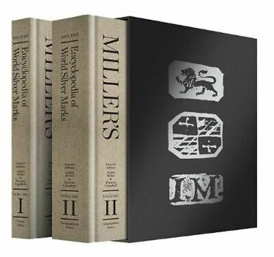 NEW Miller's Encyclopedia of World Silver Marks By Judith Miller Hardcover