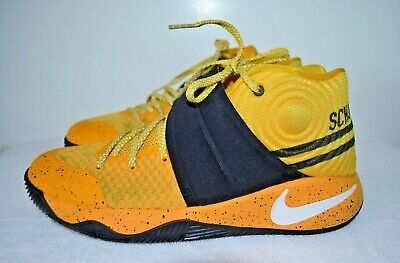 008f4f081ddf 6 Youth Nike Air Kyrie 2 GS Back To School Bus 826673 700 yellow Black  sneakers