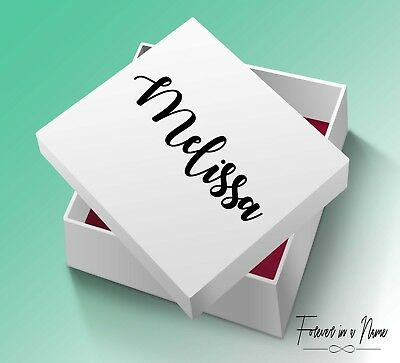 Personalised Bridesmaid Proposal Gift Box VINYL DECAL ONLY.