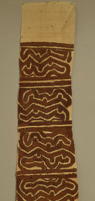 Papua New Guinea Skirt Bark Cloth Collingwood Bay Ceremonial Bark Cloth Skirt