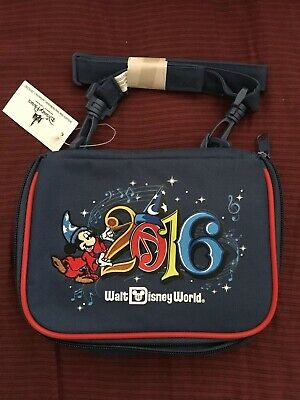 Disney Parks Mickey Mouse Collectors Pin Trading Small Bag NEW 2016